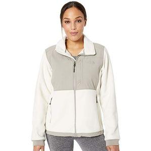North  Face Cream/Tan Fleece Jacket
